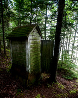Maine Outhouse with a View